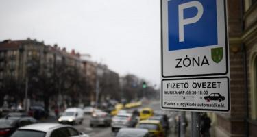 Ingyenes lesz a parkolás Budapesten az ünnepek alatt