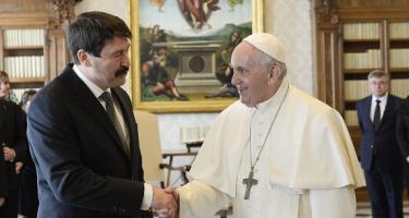 Jó esélye van a pápa budapesti látogatásának