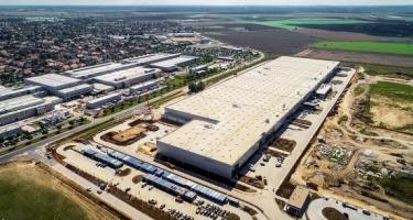 Új logisztikai központ épül Budapest közelében